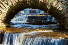 Waterfall That Flows Under An ...