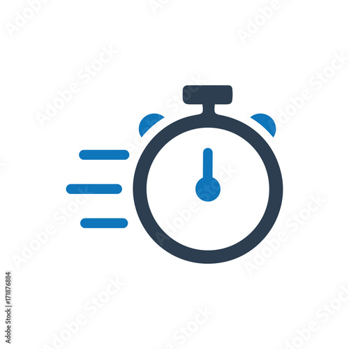 Fotografiet  Fast Service Icon