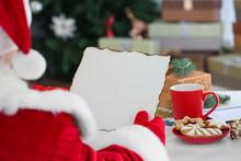 Authentic Santa Claus With Let...