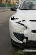 Crashed car. Slovakia