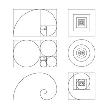 Golden Ratio Template Vector I...
