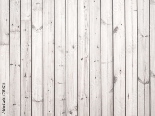 Rustic white wood plank background. vintage style - 171916018