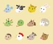 十二支 動物イラスト