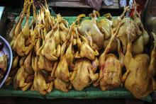Fresh Chicken On The Market, Y...