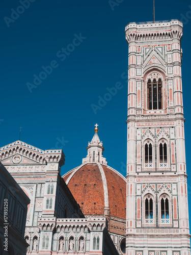 Dome of Florence, Florenzer Dom und Campanile Santa Maria Del Fiore #5 Fototapete