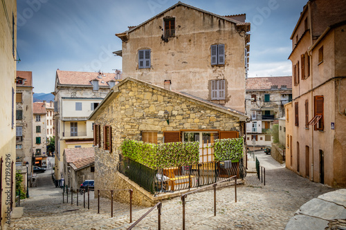 Fotografie, Obraz  Corte is a commune in the Haute-Corse department of France on the island of Corsica