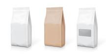 White Foil Or Paper Snack Bag ...