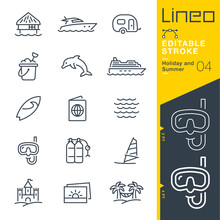 Lineo Editable Stroke - Holida...