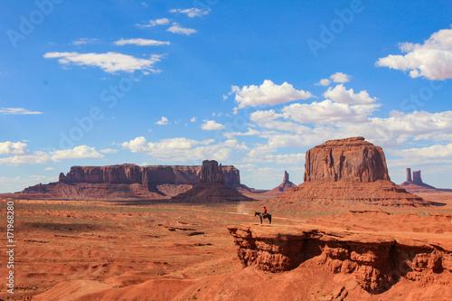Cadres-photo bureau Brique Monument Valley
