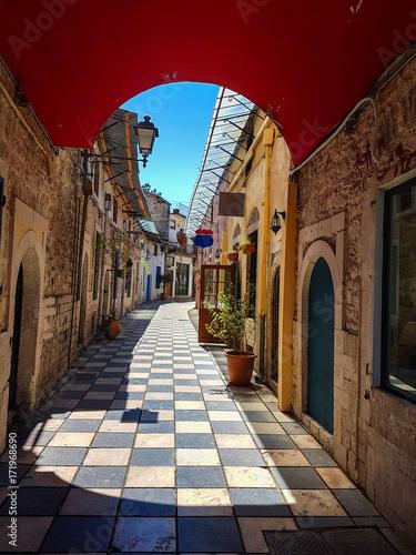 Zdjęcie XXL ulica w Iannina greece