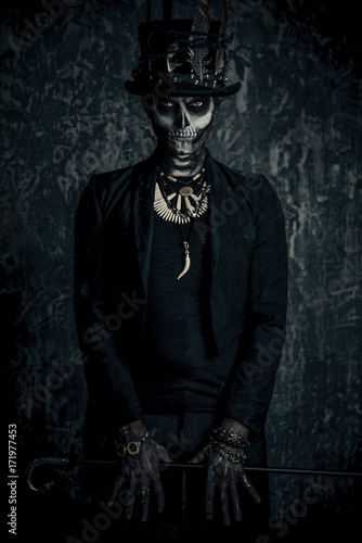 Poster Animaux de Hipster halloween folklore character