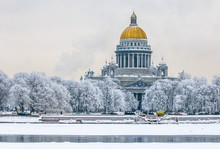 Saint Isaac's Cathedral In Win...