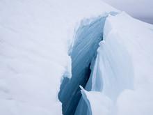 Crevasse On The Easton Glacier...