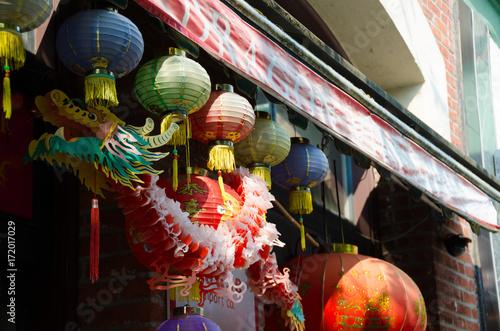 Papierowy smok w Chinatown