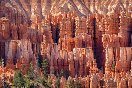 Photo Bryce Canyon National Park, Utah, Hoodoos, Spires Pinnacles, Red Rock