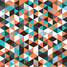 Abstract Geometric Triangle Se...