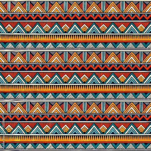 Tribal seamless pattern Canvas Print