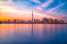 Toronto Downtown Skyline With ...