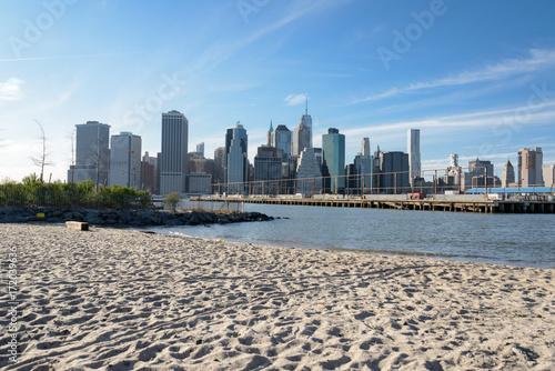 Badestrand New York City in Brooklyn Heights