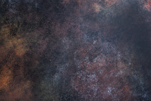 Black Rusty Metal Background