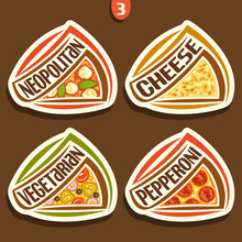Vector Set Signs For Italian P...