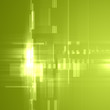 Leinwandbild Motiv Abstract light green futuristic background