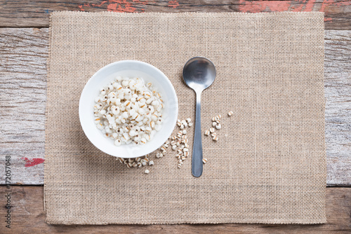 Fotografie, Obraz  Healthy breakfast of boiled job's tears