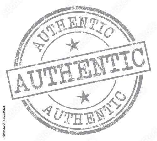 Authentic Stamp