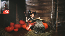Halloween.  Little  Witch   Co...
