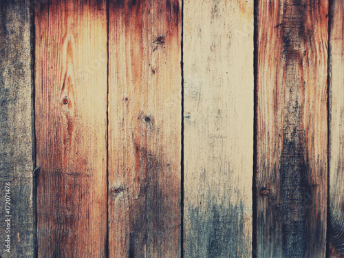 Fototapeta różne deski z drewna