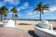 Entrance To A Fort Lauderdale Beach, Florida