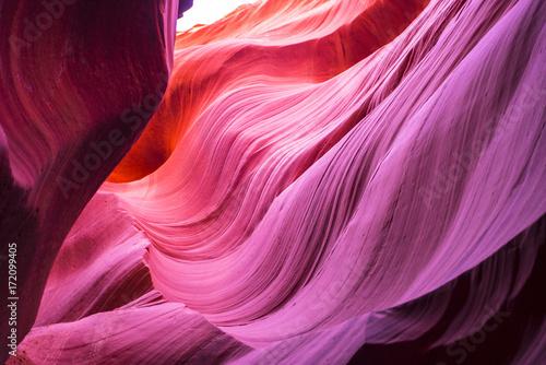 Spoed Fotobehang Antilope Canyon Colors