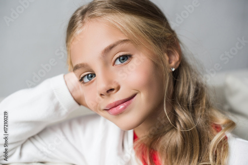 adorable preteen child