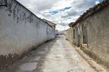 Una Calle En Madrigal De Las A...