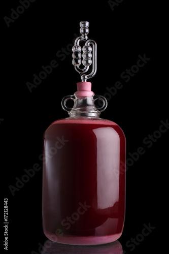 Valokuva Blackberry wine