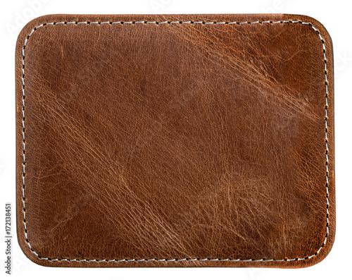 Cuadros en Lienzo brown leather texture