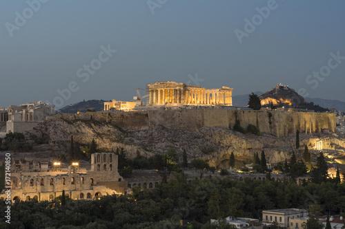 Poster Athens ACROPOLI DI ATENE