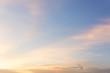 Leinwandbild Motiv Colorful sky at sunset for background