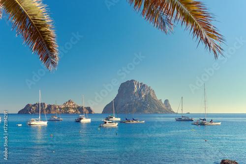 Es Vedra. Ibiza Island, Balearic Islands. Spain