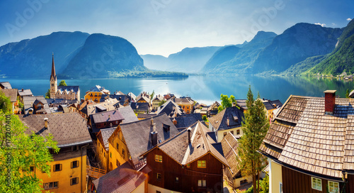 Fotografia  Great views of the lake and Hallstatter
