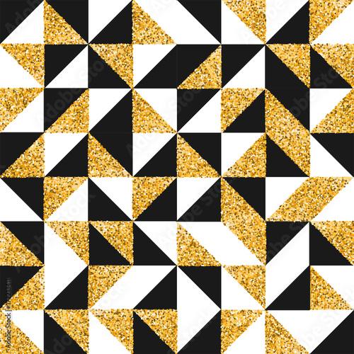 wzor-z-przeplatajacym-sie-zlotym-czarnym-i-bialym-kolorem