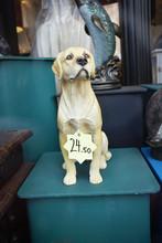 A Porcelain Dog For Sale