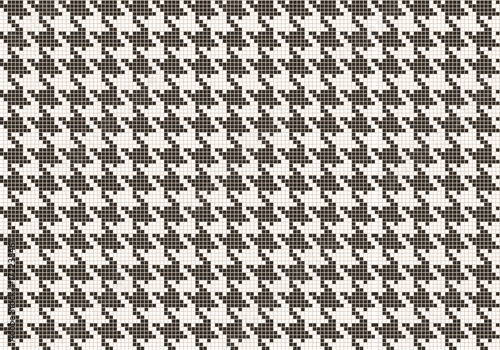 Photo  Crows foot pattern from pixels.