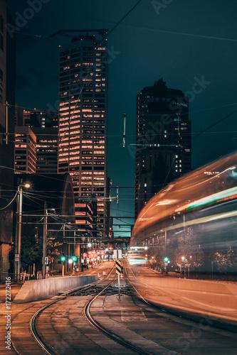 Light Rail Billede på lærred