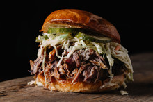 BBQ Pulled Pork Sandwich With ...