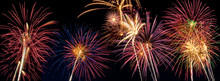 Beautiful Fireworks Display Li...