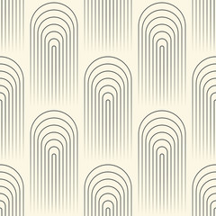 FototapetaSeamless Circular Wallpaper. Abstract Regular Texture