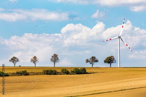 Zdjęcie XXL Turbin wiatrowych na austria obszarów wiejskich