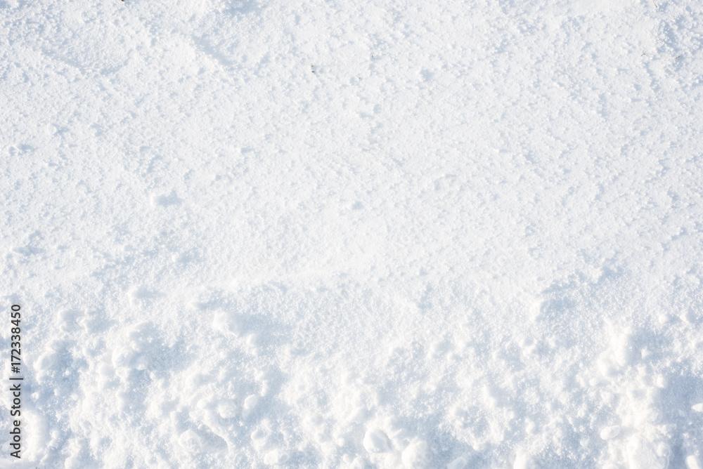 Fototapety, obrazy: Winter texture, snow background