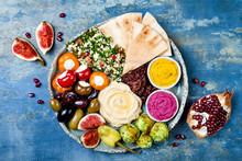 Middle Eastern Meze Platter Wi...
